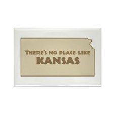 """Kansas"" Rectangle Magnet"