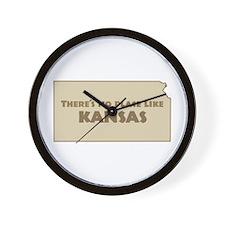 """Kansas"" Wall Clock"