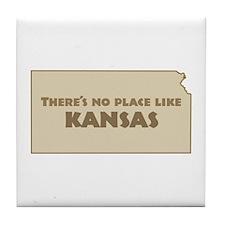 """""""Kansas"""" Tile Coaster"""
