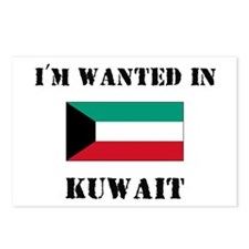 I'm Wanted In Kuwait Postcards (Package of 8)