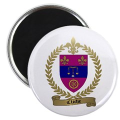 """CLICHE Family Crest 2.25"""" Magnet (100 pack)"""