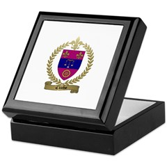 CLICHE Family Crest Keepsake Box