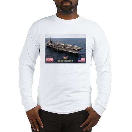 USS Truman CVN-75 Long Sleeve T-Shirt
