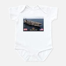 USS Truman CVN-75 Infant Bodysuit
