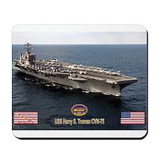 USS Truman CVN-75 Mousepad