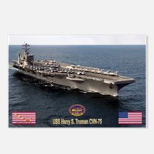 USS Truman CVN-75 Postcards (Package of 8)