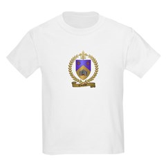 CLOUTIER Family Crest Kids T-Shirt