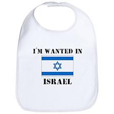 I'm Wanted In Israel Bib