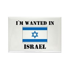 I'm Wanted In Israel Rectangle Magnet
