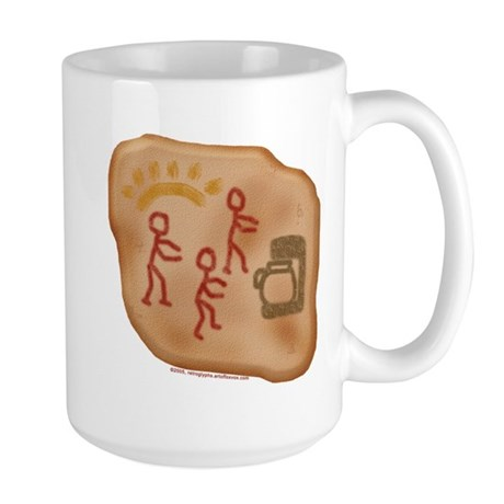 Caveman Coffee Large Mug