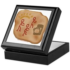 Caveman Coffee Keepsake Box