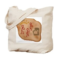 Caveman Coffee Tote Bag