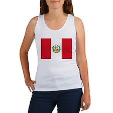 Peru flag Women's Tank Top