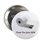 "Flush The John 2.25"" Button"