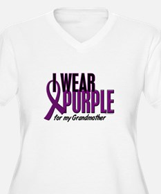 I Wear Purple For My Grandmother 10 T-Shirt