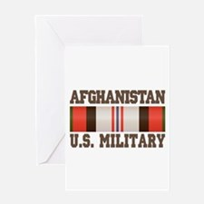 Afghanistan US Military Greeting Card