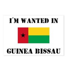I'm Wanted In Guinea-Bissau Postcards (Package of