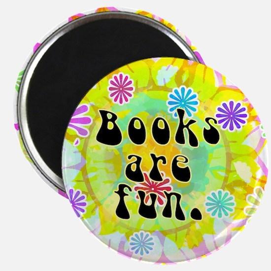 Books Are Fun Magnet