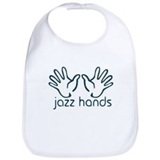 Jazz Hands Bib