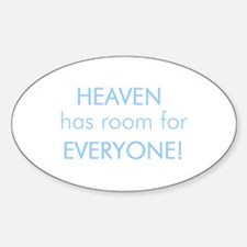 Room for Everyone (AMNESTY IN Oval Decal