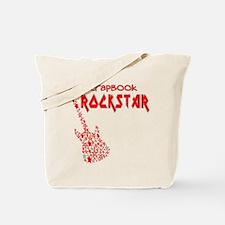 Scrapbook Rockstar (2) Tote Bag