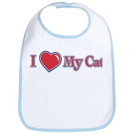 I Heart My Cat Bib