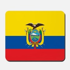 Flag of Ecuador Mousepad