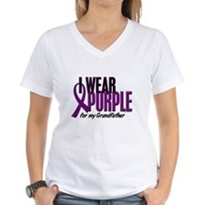 I Wear Purple For My Grandfather 10 Shirt