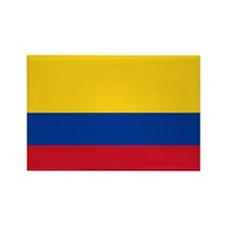 Flag of Colombia Rectangle Magnet