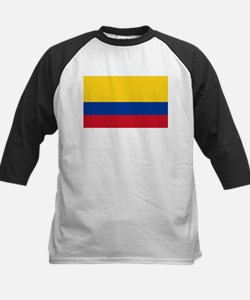 Flag of Colombia Kids Baseball Jersey