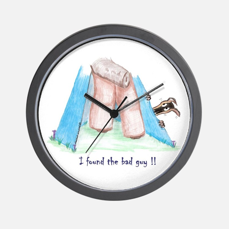 Found the bad guy! Wall Clock