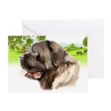 English Mastiff sympathy Greeting Card