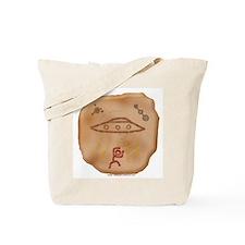 Prehistoric UFO Tote Bag