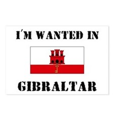 I'm Wanted In Gibraltar Postcards (Package of 8)