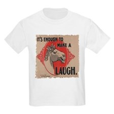 Laughing Horse - T-Shirt
