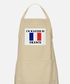 I'm Wanted In France BBQ Apron