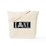 I Hate New York Tote Bag