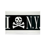 I Hate New York Rectangle Magnet (10 pack)