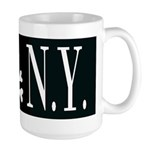 I Hate New York Large Mug