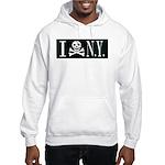 I Hate New York Hooded Sweatshirt