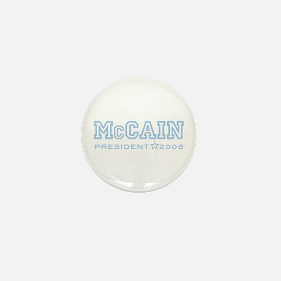 McCain 2008 Mini Button