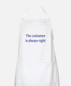 Costumer Is Right BBQ Apron
