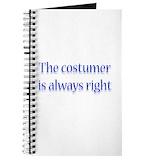 Costume designer Journals & Spiral Notebooks