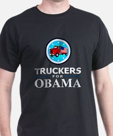 Truckers for Obama T-Shirt