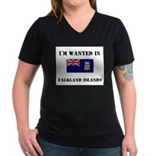 I'm Wanted In Falkland Islands Shirt
