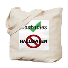 Hate Halloween Tote Bag