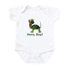 pet turtle Infant Bodysuit