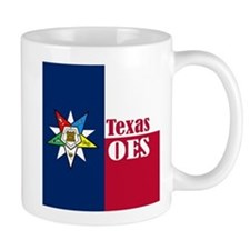 Texas Flag Eastern Star Mug