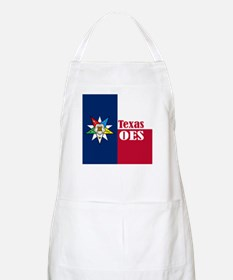 Texas Flag Eastern Star BBQ Apron