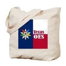 Texas Flag Eastern Star Tote Bag